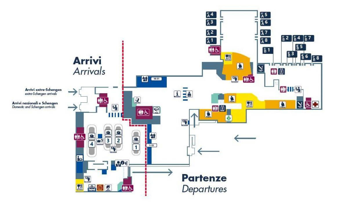 Cartina Roma Ciampino.Aeroporto Di Ciampino Mappa Roma Ciampino Aeroporto Mappa Lazio Italia