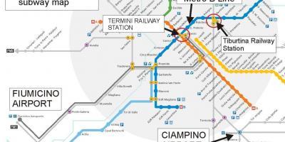 Cartina Roma Ciampino.Vecchia Roma Mappa Mappa Di Roma Lazio Italia